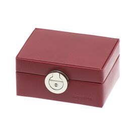 Ring Box Deco Red