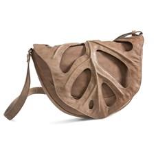 Handbag Jungle Leaf Taupe