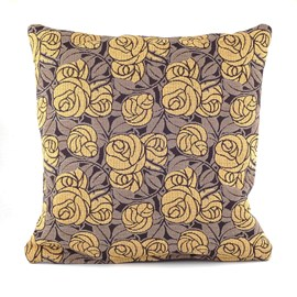 Cushion Thorn Rose Yellow