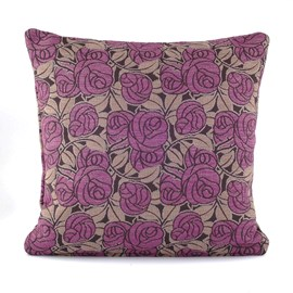 Cushion Thorn Rose Purple