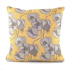 Cushion Chinese Lantern Yellow