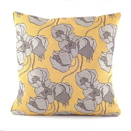 Cushion Chinese Lantern Yellow
