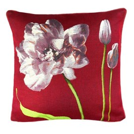 Cushion Purple Tulips