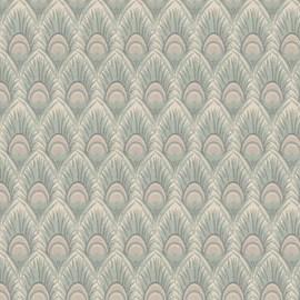 Furniture / Curtain Fabric Peacock Feather