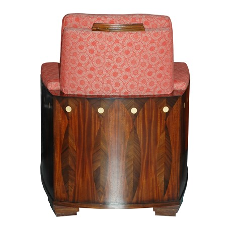Backside Armchair Amice with Furniture Fabric Marguerite