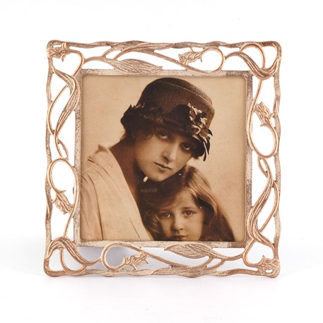 Picture Frame Tulips in Cream 15 x 15 cm