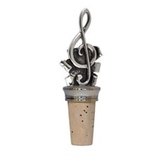 Wine Cork G Clef