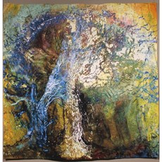 Wall Tapestry Spring Tree