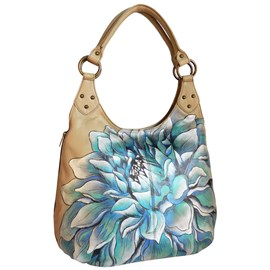 Handbag Blue Flower