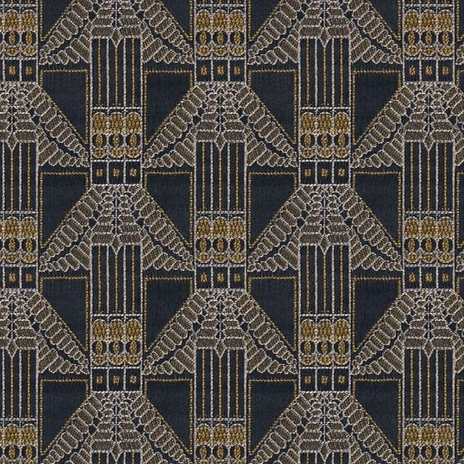 Furniture / Curtain Fabric Trapeze Brown