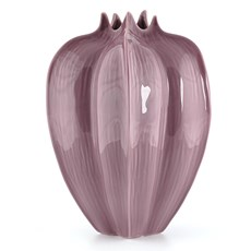 Vase Tulip Purple High