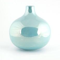Globe Vase Luster Turquoise