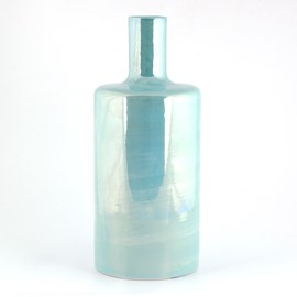 Cylinder Vase Luster Turquoise