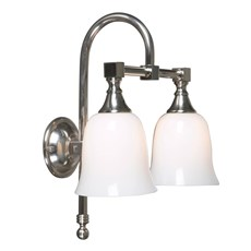 Bathroom Lamp Classic Bow Double Bell