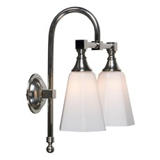 Bathroom Lamp Classic Bow Double Hexagon