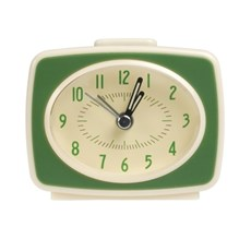 Alarm Clock Vintage Style Green