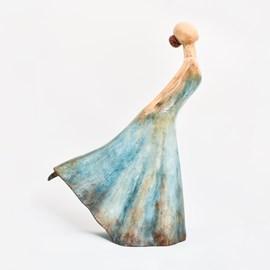 Sculpture Ballerina in pose