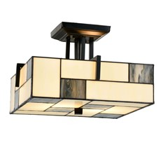 Tiffany Ceiling Lamp Mondrian