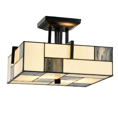 Tiffany ceiling lamp mondrian aloadofball Choice Image