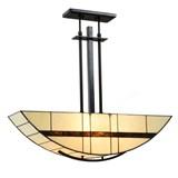Tiffany Pendant Light Geometric