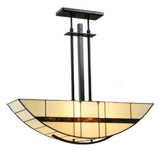 Tiffany Pendant Light Geometric