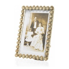 Photo Frame Daisy Cream