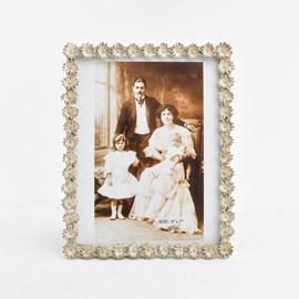 Photo Frame Daisy Cream