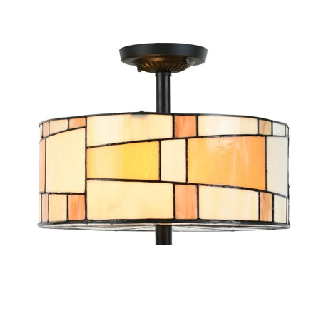 Tiffany Ceiling Lamp Roundabout