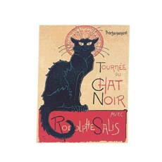 Tapestry Chat Noir (Black Cat)