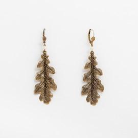 Earrings Oakleaf