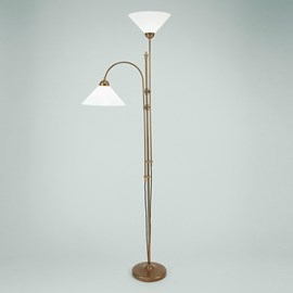Uplighter with Reading Lamp Classy