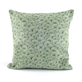 Cushion Elegant Ginkgo | Green