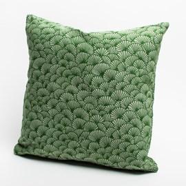 Cushion Elegant Ginkgo | Green