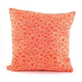 Cushion Elegant Ginkgo | Orange