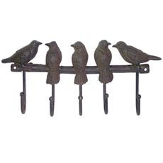 (Set of 2) Coat Rack Birds
