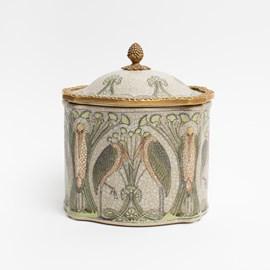 Art Nouveau Box Birds