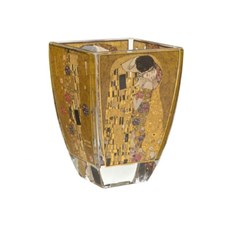 Glass Tealight Gustav Klimt | The Kiss