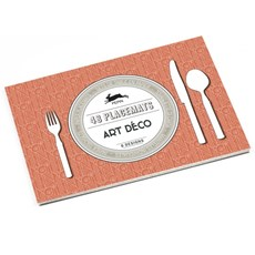 Placemat Pad Art Deco