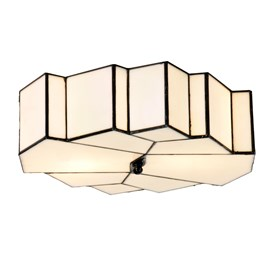 Tiffany French Art Deco Ceiling Lamp  / Wall Lamp Glamour