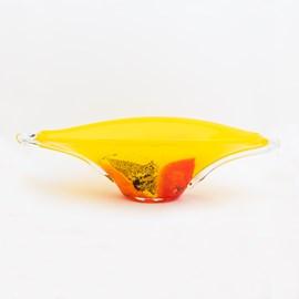 Glass Bowl/ Object Yellow