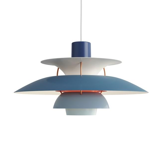 Louis Poulsen PH 5 Pendant Light Blue