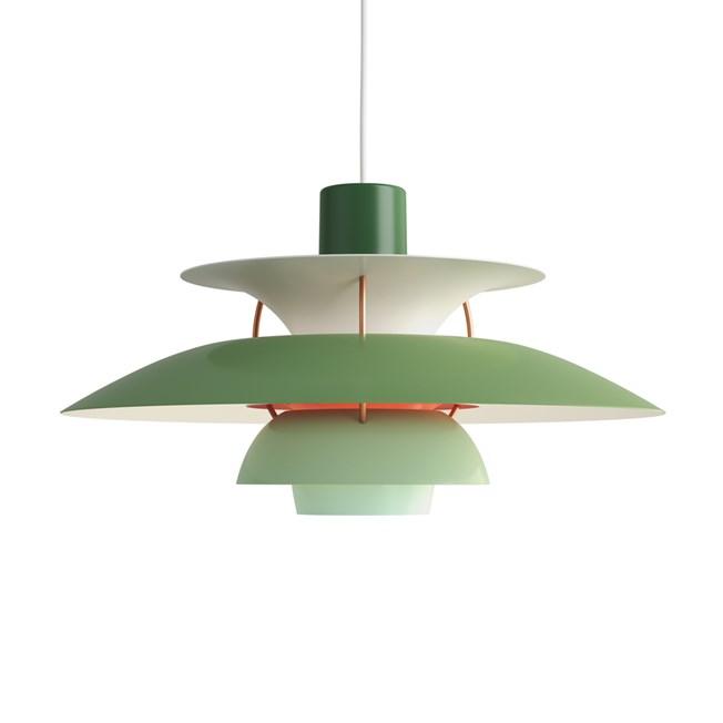 Louis Poulsen PH 5 Pendant Light Green