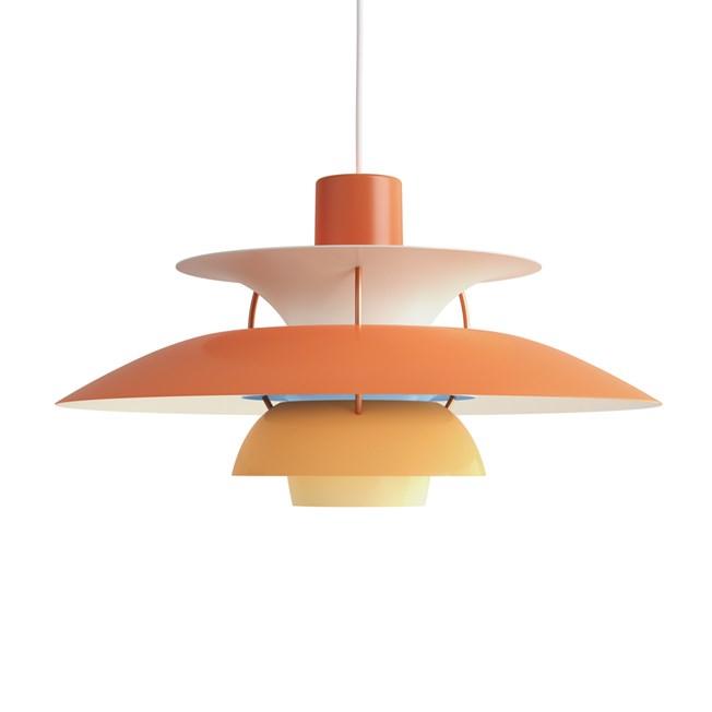 Louis Poulsen PH 5 Pendant Light Orange