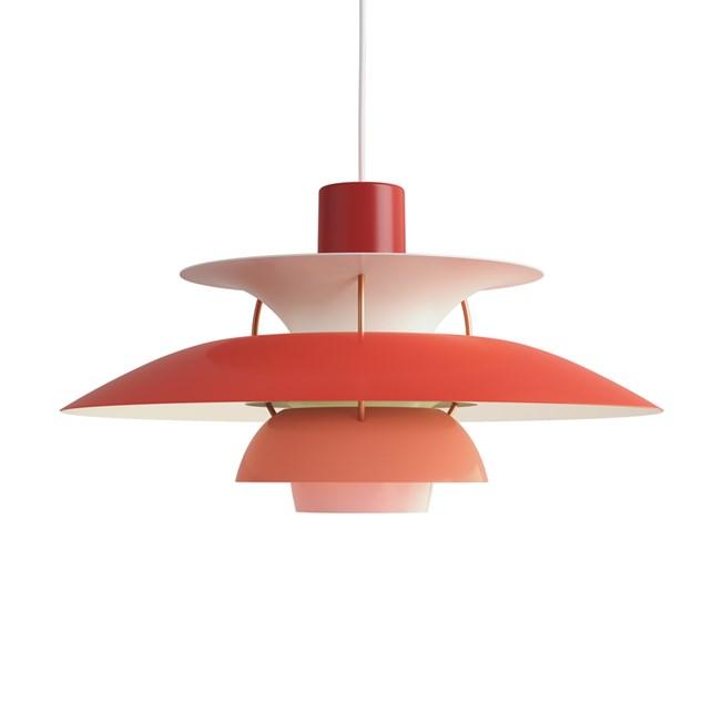 Louis Poulsen PH 5 Pendant Light Red