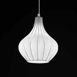 Venetian Hanging Lamp Drop | Opal White