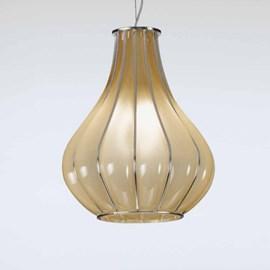 Venetian Hanging Lamp Drop | Amber Yellow