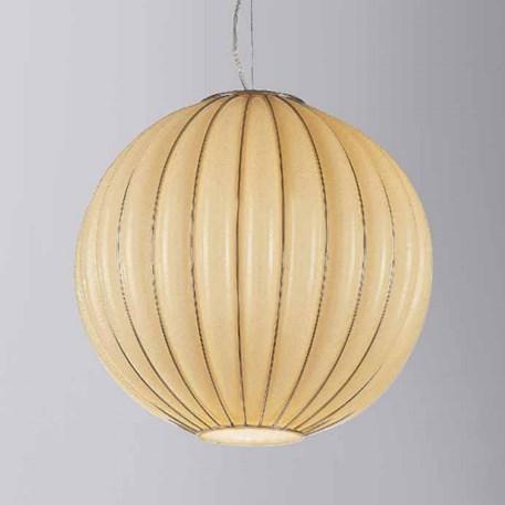 Venetian Hanging Lamp Globe | Amber Yellow