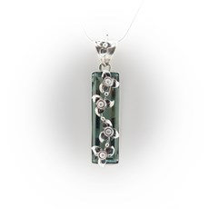 Pendant Flowers & Pearls