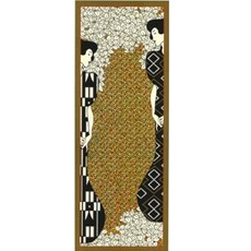 Tapestry Klimt Silhouettes