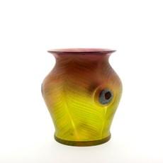 Art Nouveau Vase Feathers